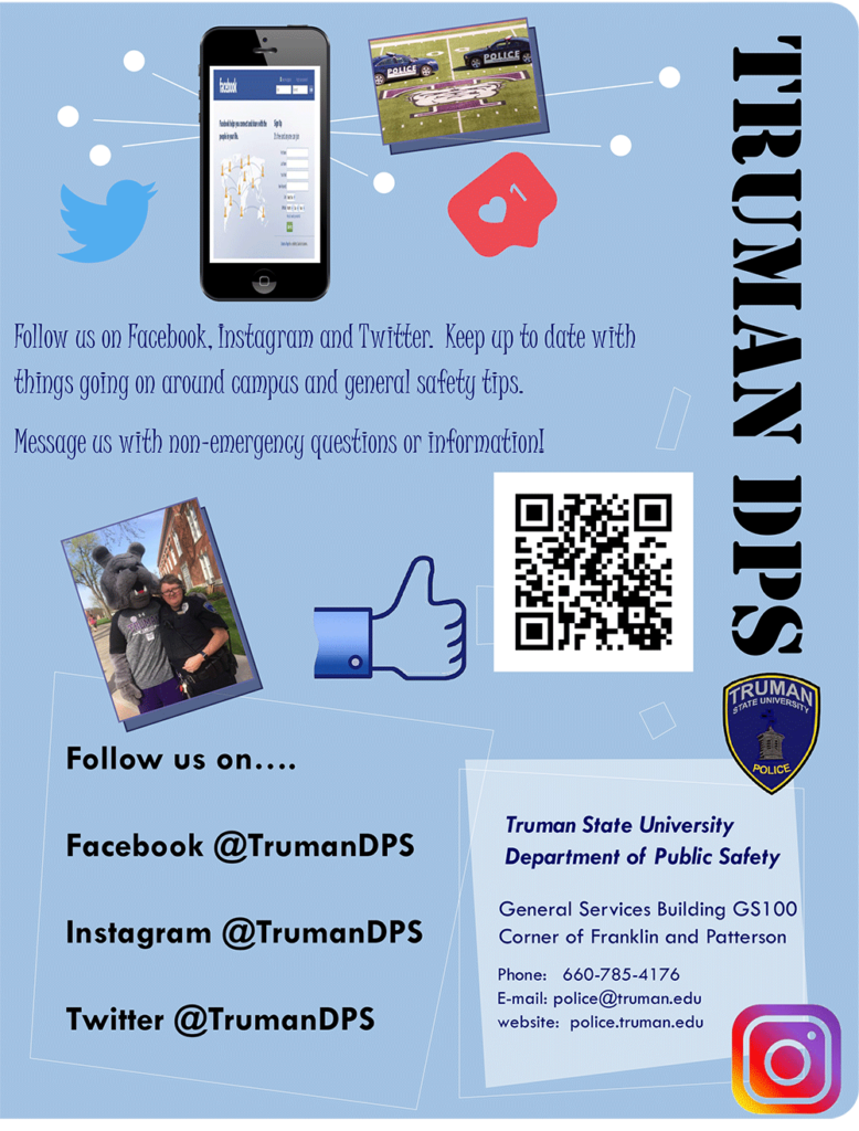 Department of Public Safety Social Media Flyer