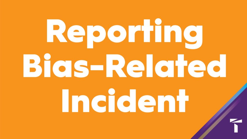 Reporting Bias-Related Indicent
